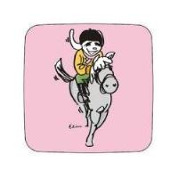 LM Horse and rider card 94514