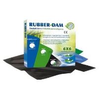 Rubber Dam - Camp de diga, medium, 5 buc x 36 folii, Cerkamed