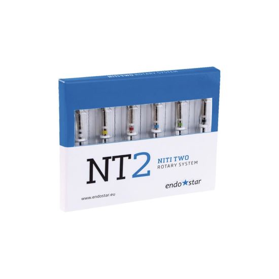 Ace NT2 NiTi Two Rotary System 15-25mm