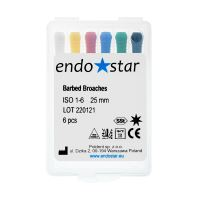 Ace Barbed Broaches Endostar